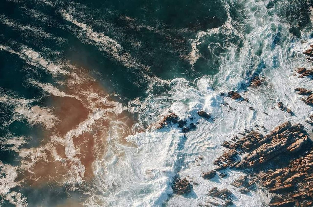 Travel Photography By Anastasia Vervueren South Africa Capetown Ocean drone Waves