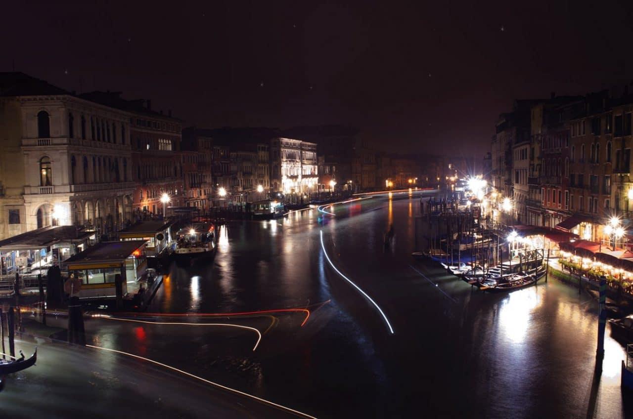 Travel Photography By Anastasia Vervueren Italy Venice Night Photography Rialto