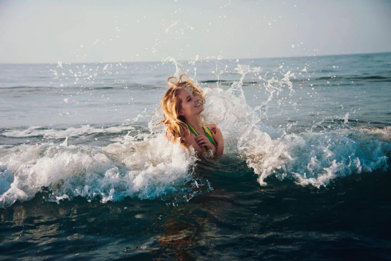 Travel Photography By Anastasia Vervueren Italy Sardinia Beach Portrait Wave