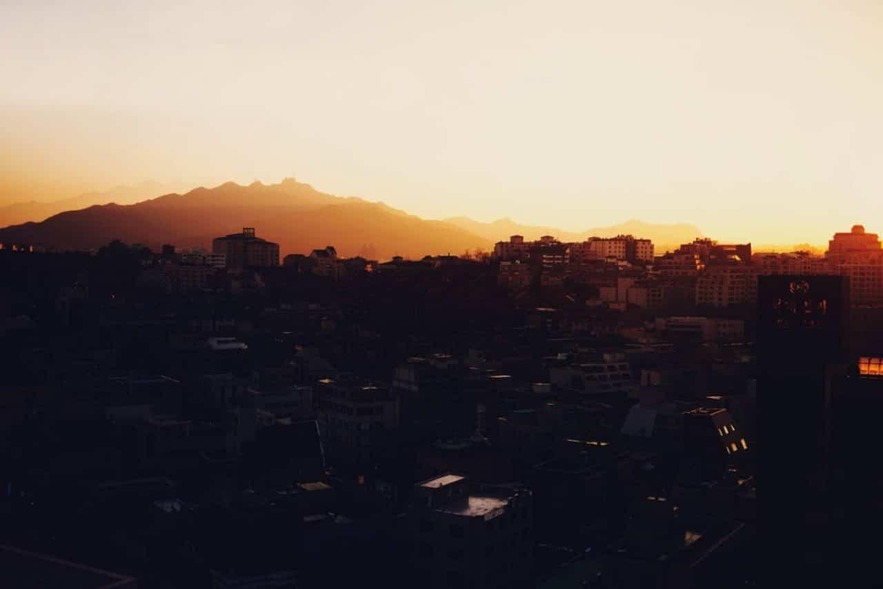 Travel Photography By Anastasia Vervueren Korea Seoul Landscape Sunset