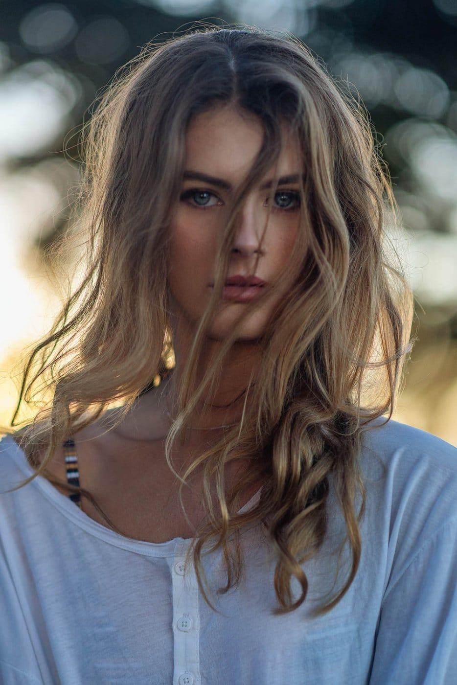 Portrait Photography By Anastasia Vervueren Golden Hour Australia Chadwick Models