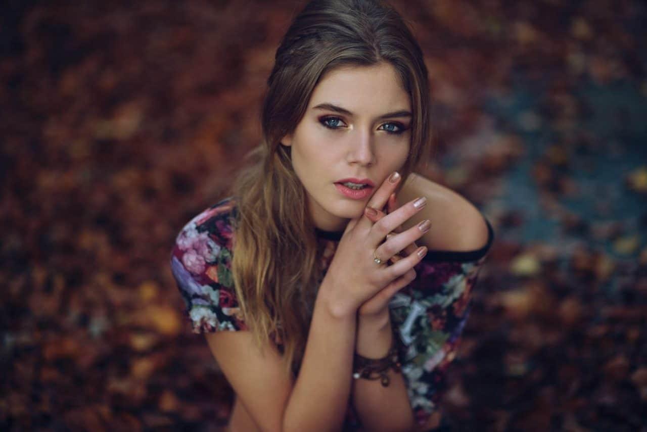 Portrait Photography By Anastasia Vervueren Autumn