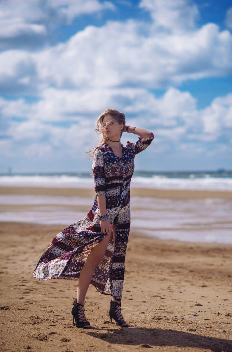 Fashion Portrait Photography By Anastasia Vervueren Beach