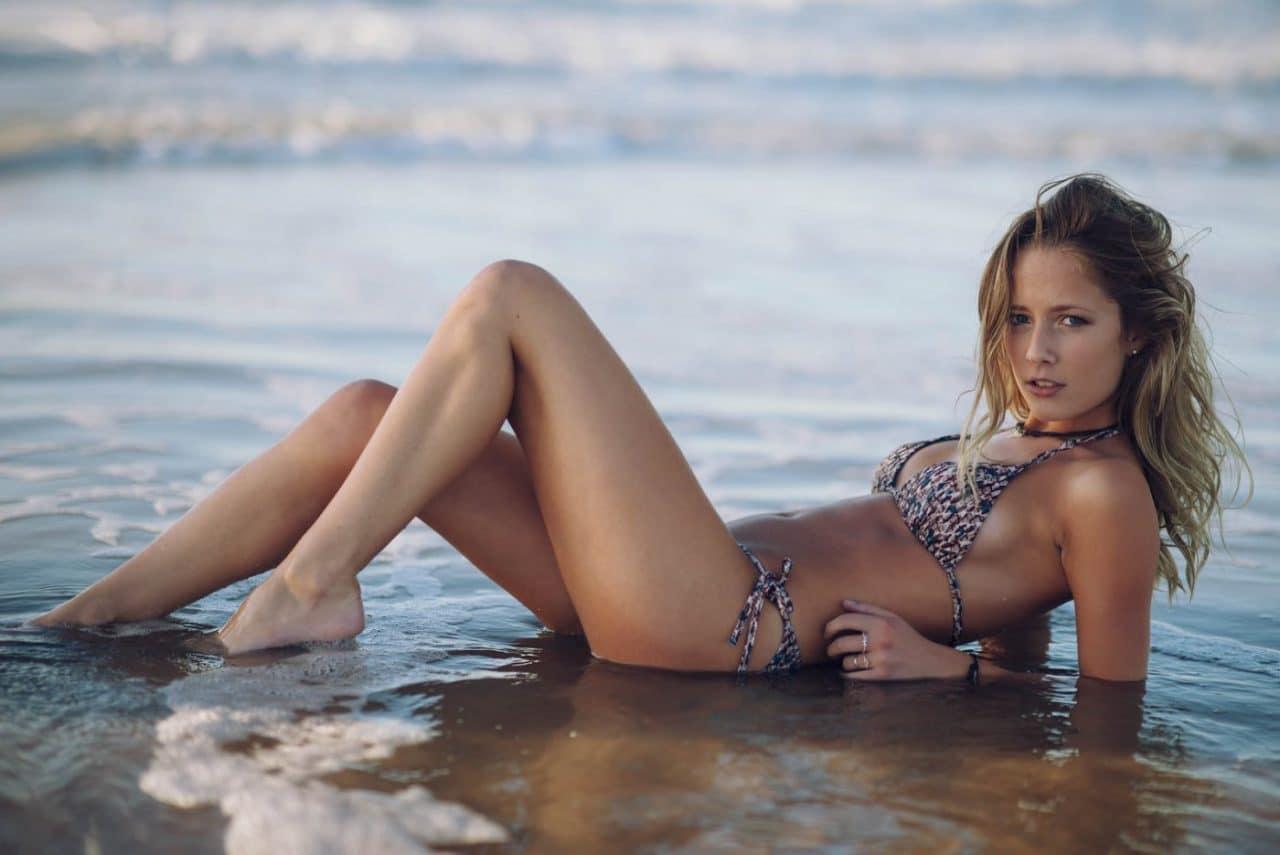 Portrait Photography By Anastasia Vervueren Swimwear Beach
