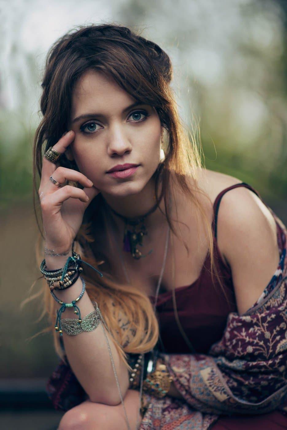 Portrait Photography By Anastasia Vervueren Boho Gypsy