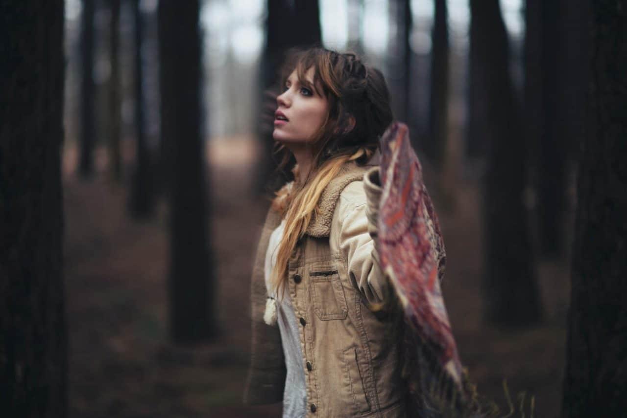 Portrait Photography By Anastasia Vervueren Boho Soul Danse Forest
