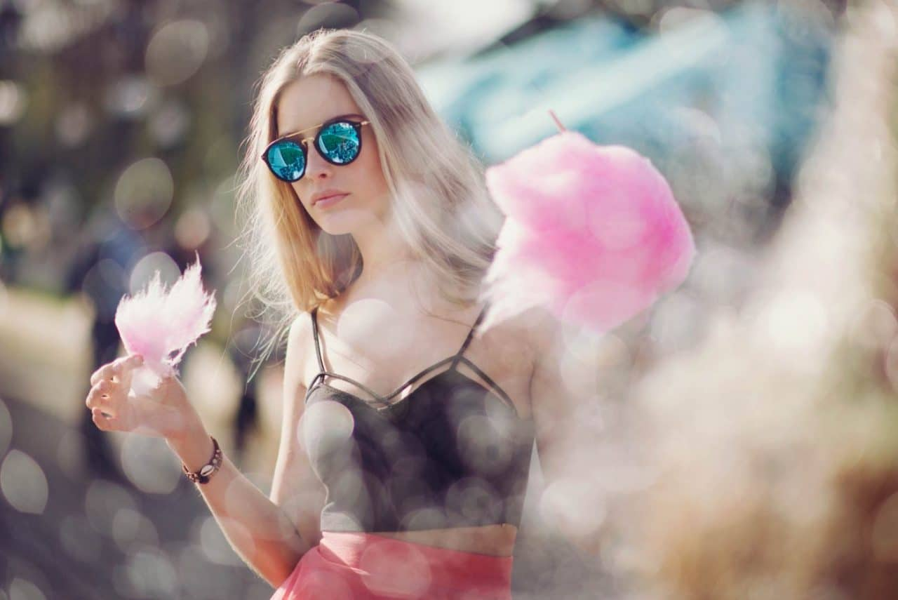 Portrait Photography By Anastasia Vervueren From Camille Bokeh Water Reflection