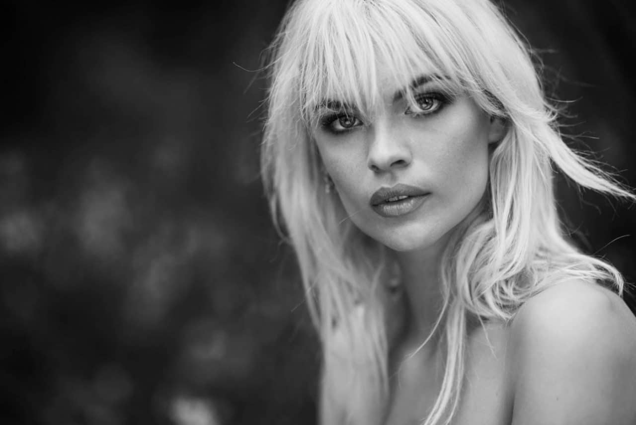 Portrait Photography By Anastasia Vervueren Black And White