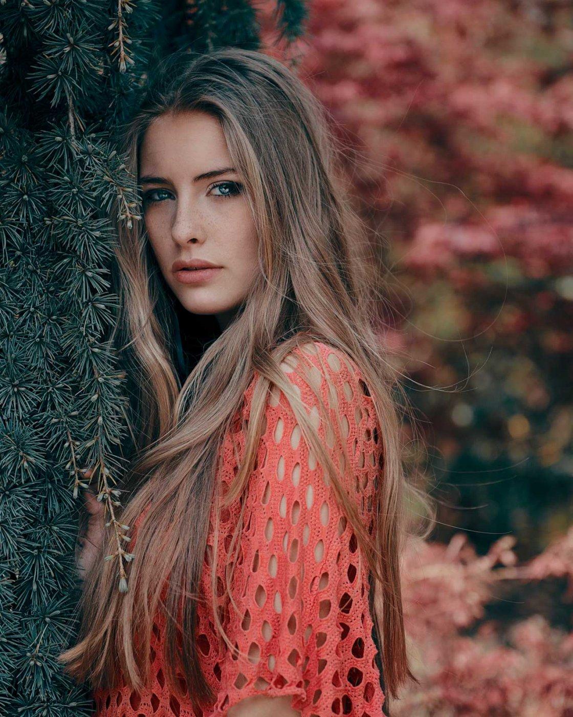 Portrait Photography By Anastasia Vervueren From Camille Rochette Pairi Daiza