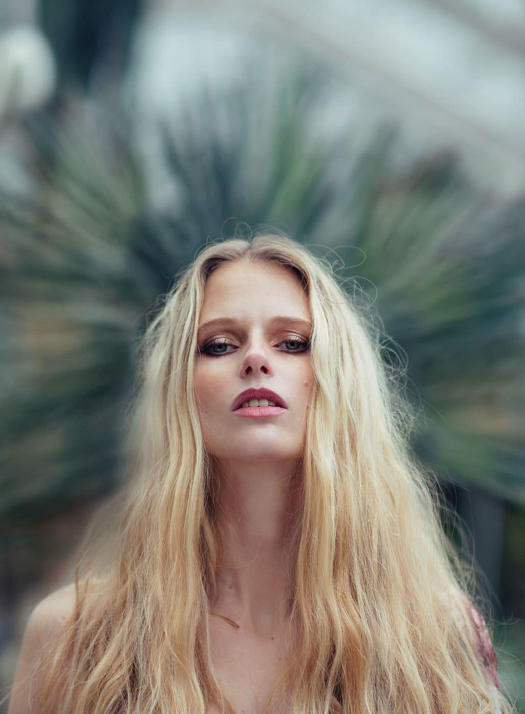 Portrait Photography By Anastasia Vervueren Tropical Goddess Crown