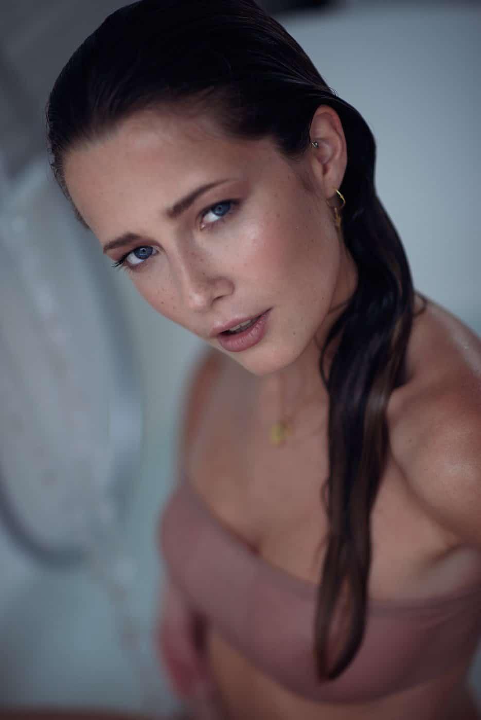 Portrait Photography By Anastasia Vervueren Lingerie Thermes De Kain