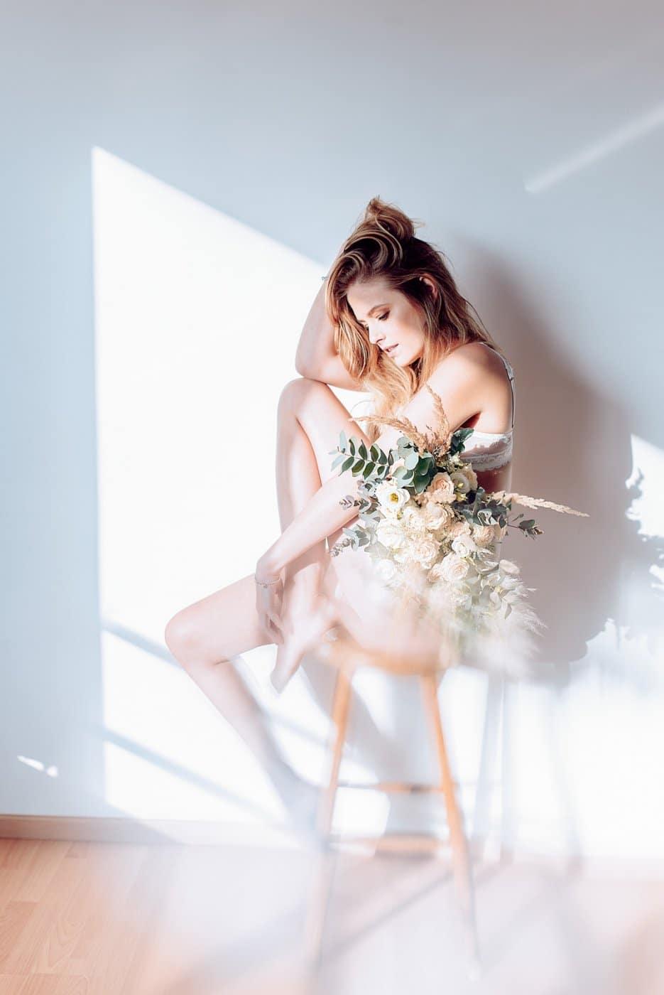 Portrait Photography By Anastasia Vervueren Anne Sophie Deckers Intimissimi