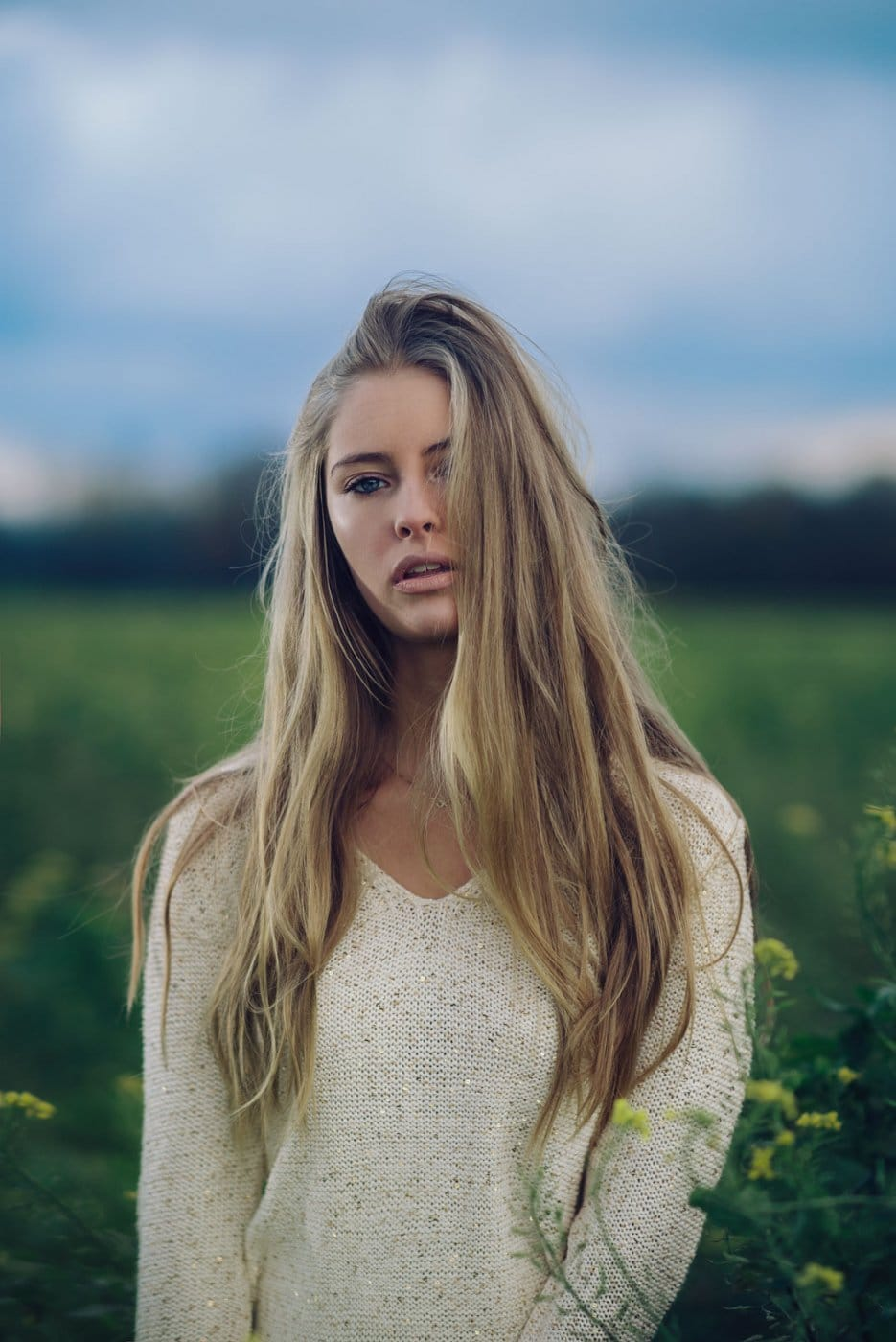 Portrait Photography By Anastasia Vervueren From Camille Rochette