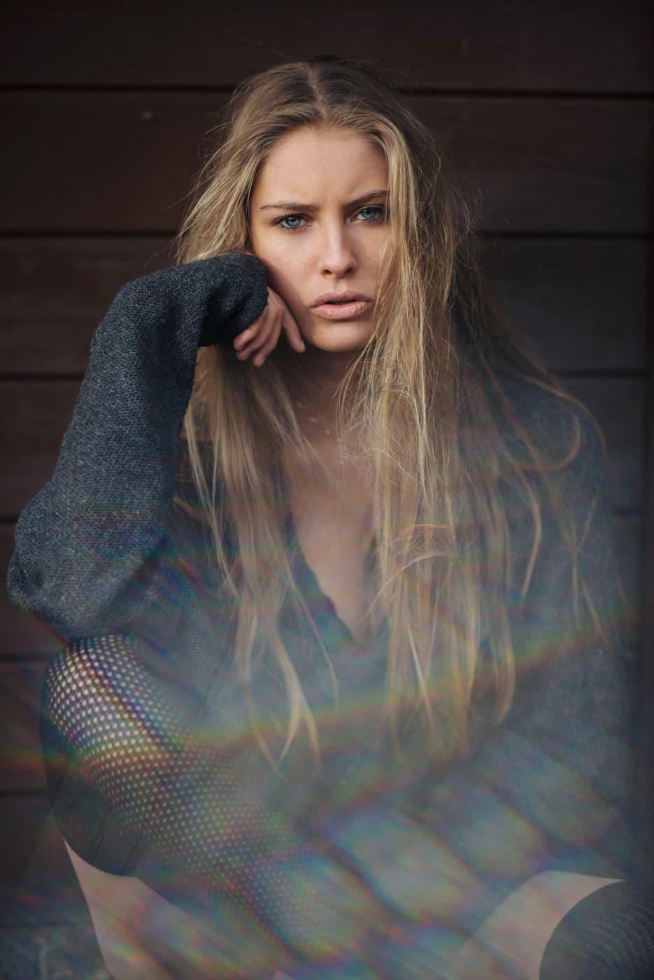 Portrait Photography By Anastasia Vervueren From Camille Rochette Prisma Light
