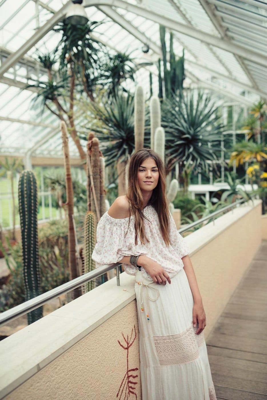 Portrait Photography By Anastasia Vervueren Plantentuin Meise Tropical Vibes