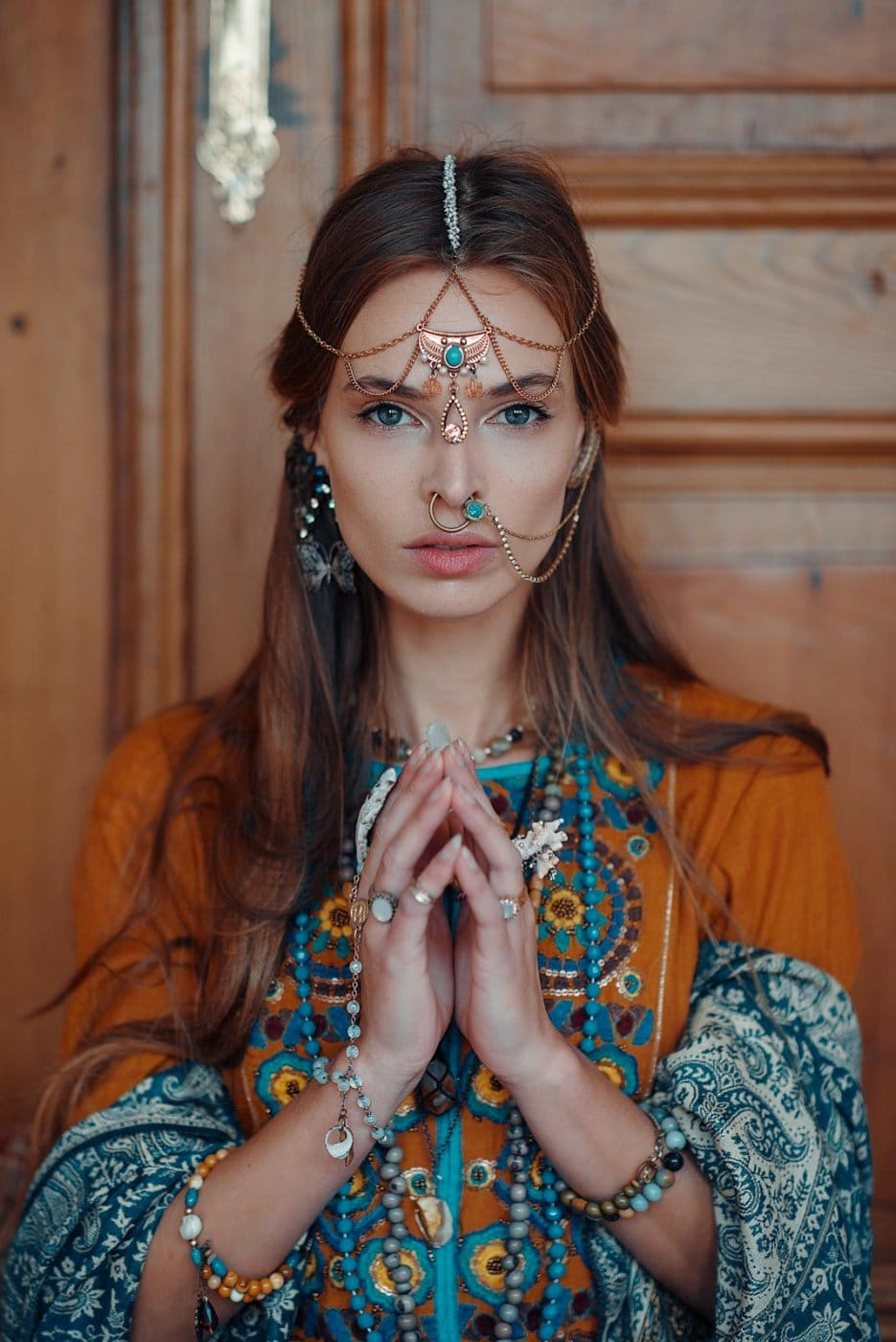Portrait Photography By Anastasia Vervueren Indian Tribe Editorial Jewelry