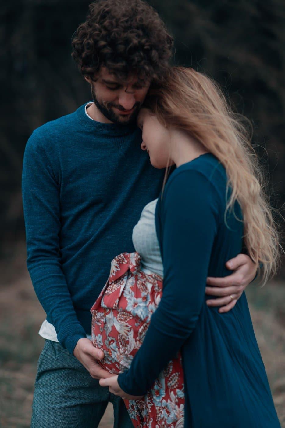 Pregnancy Photography By Anastasia Vervueren Couple Grossesse