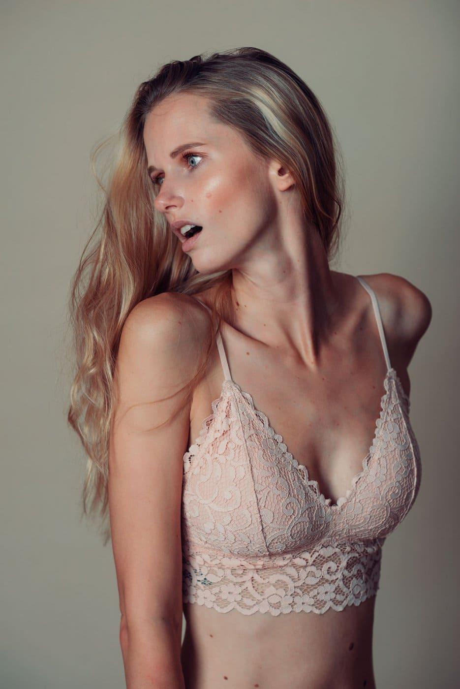Portrait Studio Photography By Anastasia Vervueren Lingerie Beauty