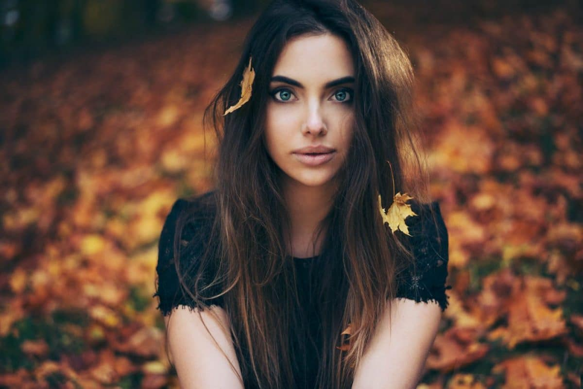 Portrait Photography By Anastasia Vervueren Plantentuin Autumn Colors