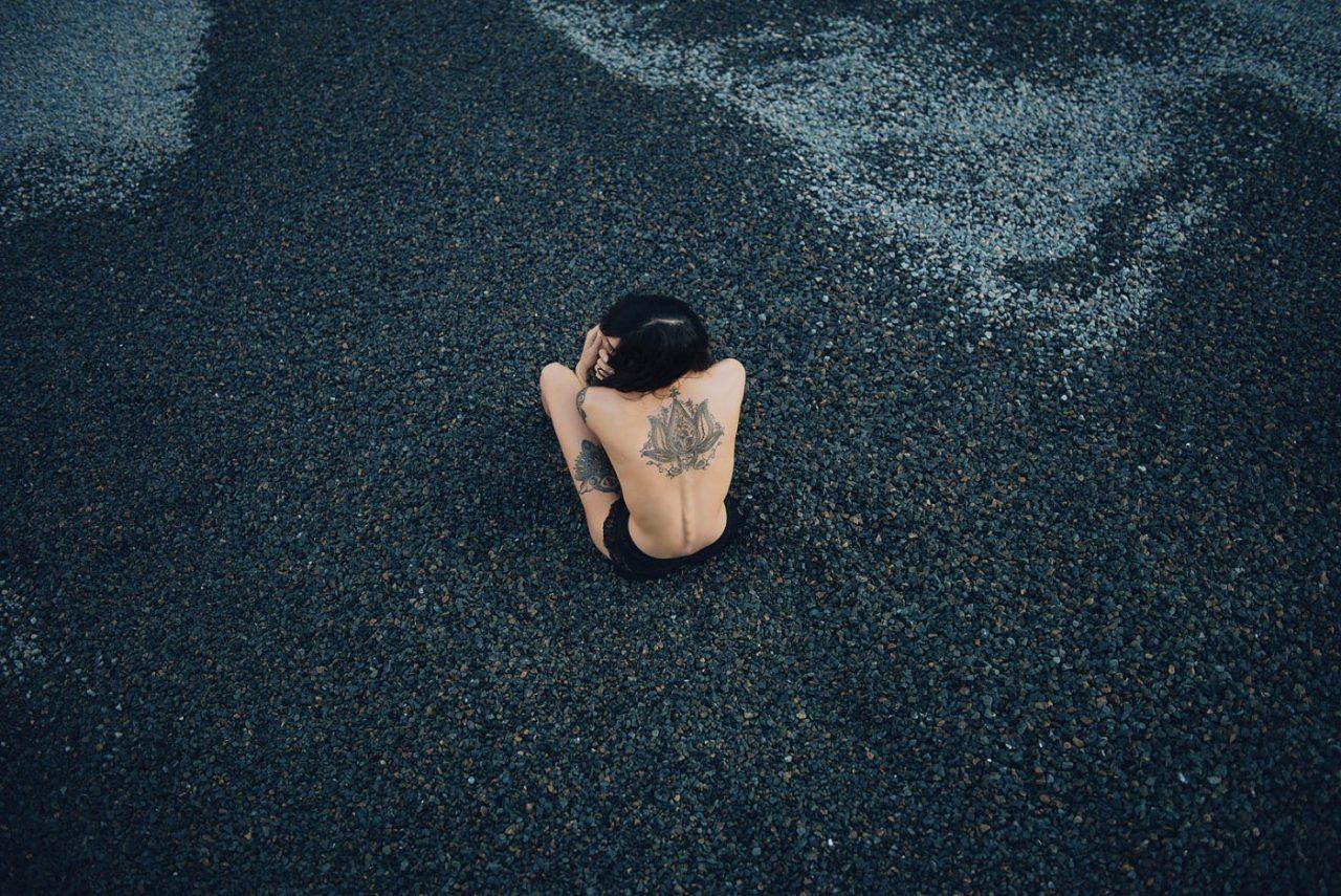 Portrait Photography By Anastasia Vervueren Tatooed Girl