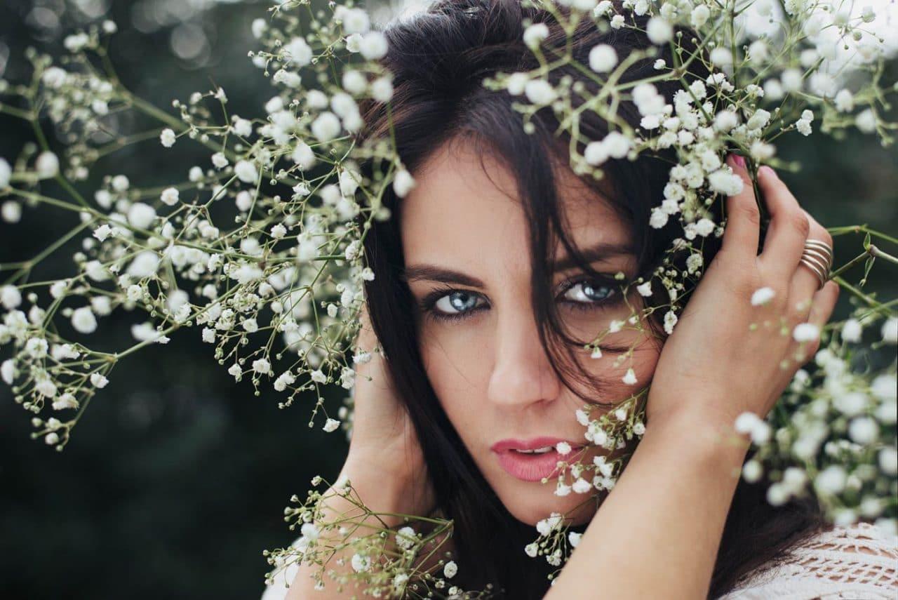Portrait Photography By Anastasia Vervueren From Aurela Skandaj Flowers