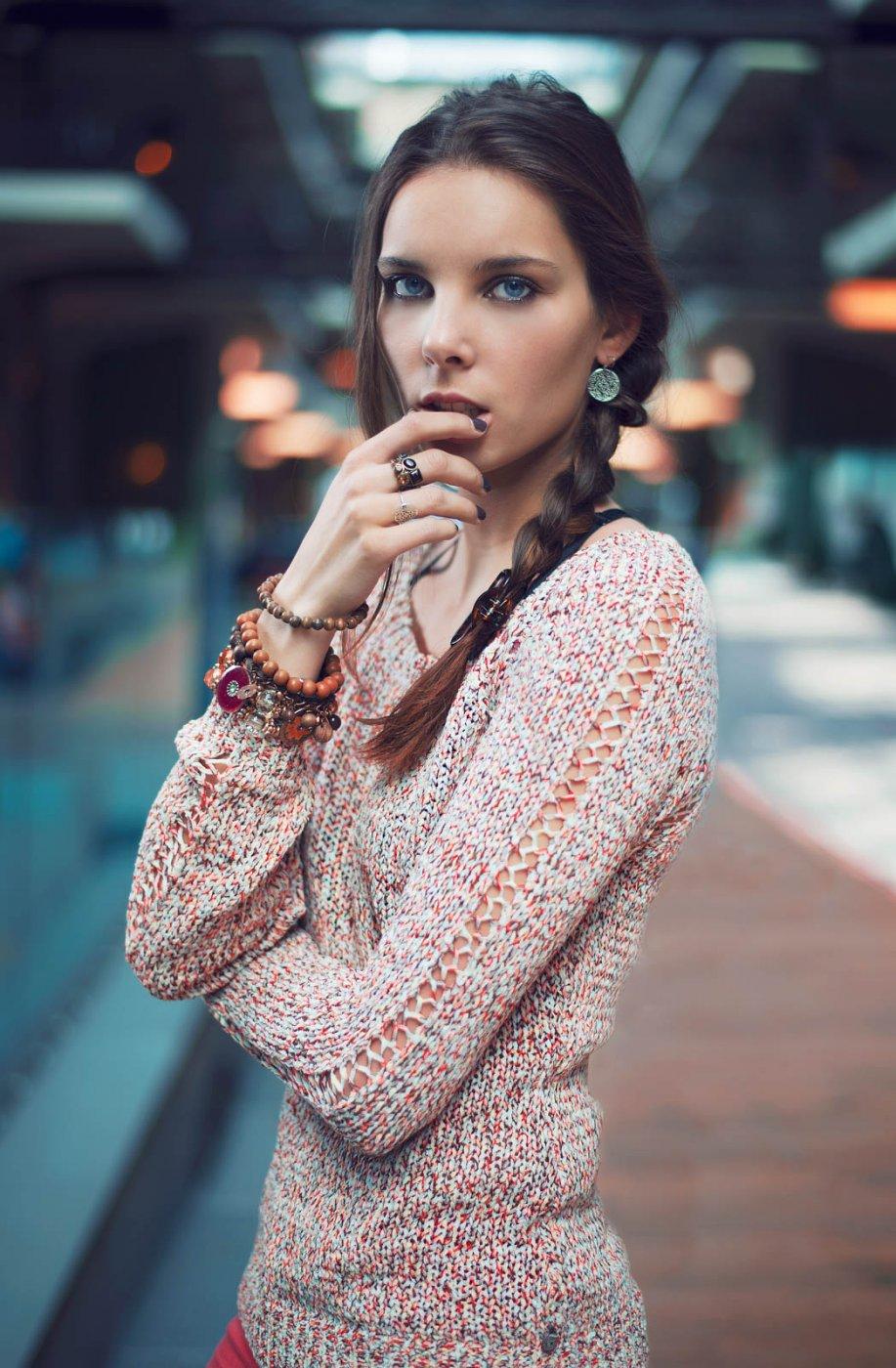 Fashion Portrait Photography By Anastasia Vervueren Bokeh