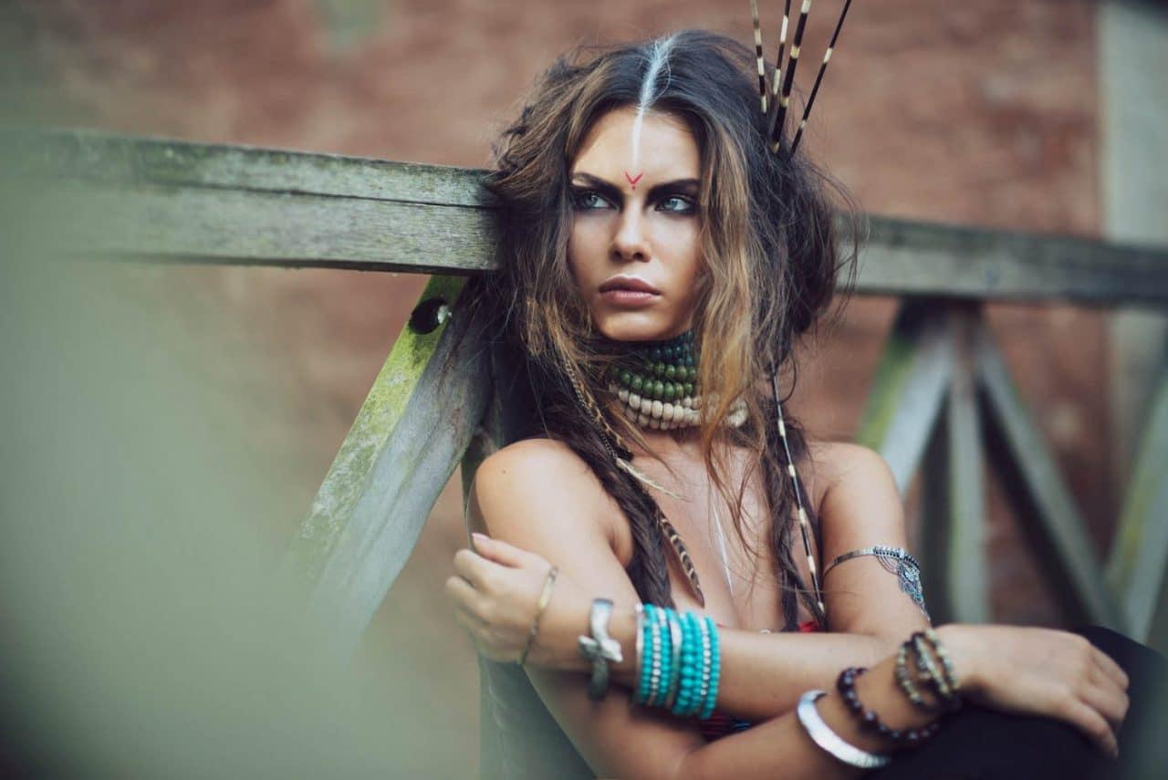 Portrait Photography By Anastasia Vervueren Plantentuin Tiziana Di Garbo Tribe Editorial