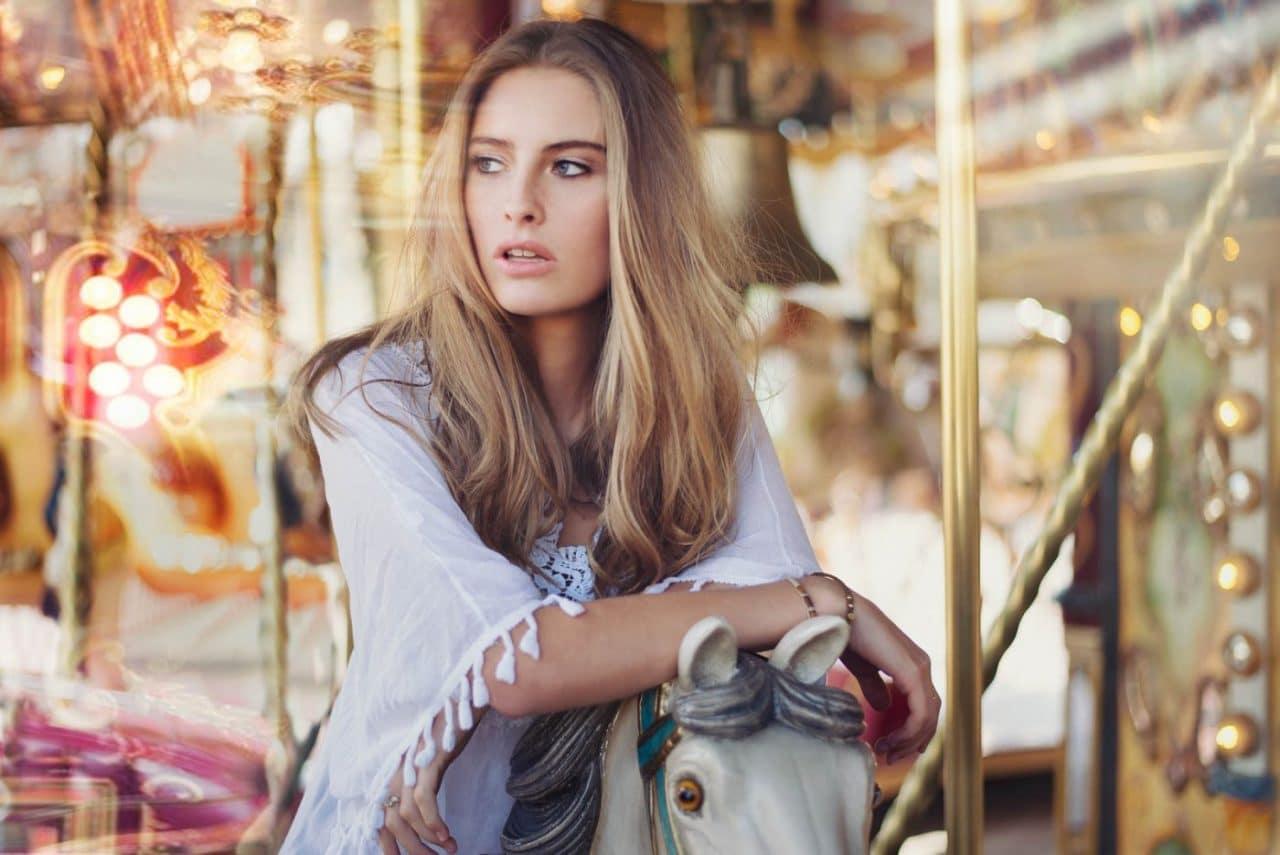 Portrait Photography By Anastasia Vervueren From Camille Rochette Efteling Lights Carrousel