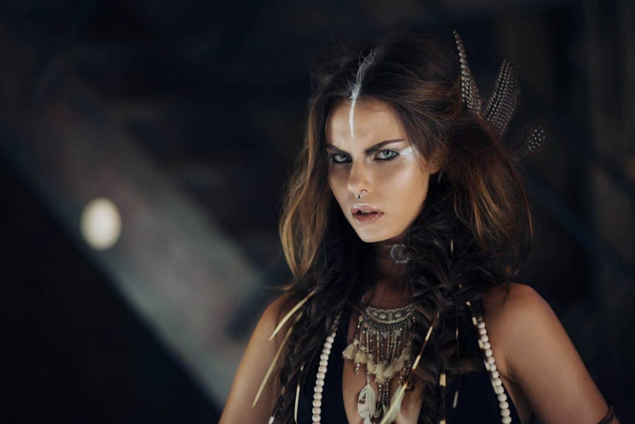 Portrait Photography By Anastasia Vervueren Tiziana Di Garbo Tribe Editorial