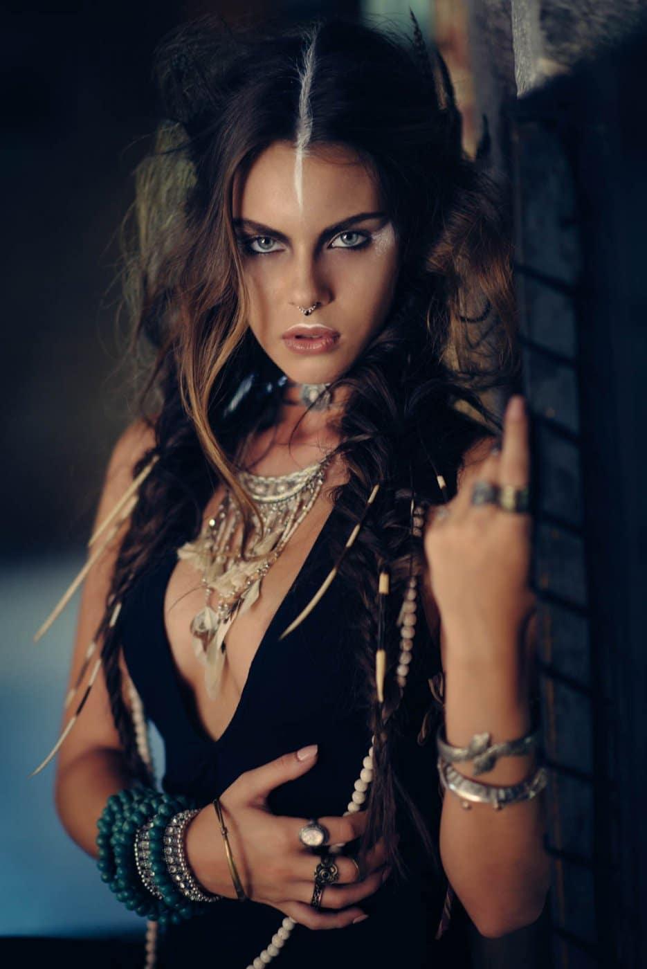 Portrait Photography By Anastasia Vervueren Tiziana Di Garbo Tribe