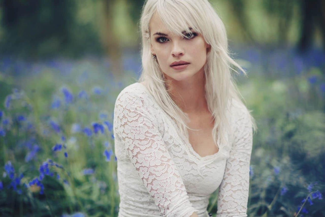 Portrait Photography By Anastasia Vervueren Hallerbos White Hair