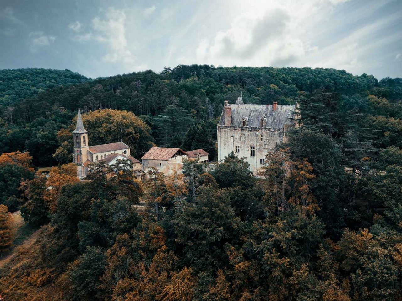 Travel Photography By Anastasia Vervueren France Gers Castle